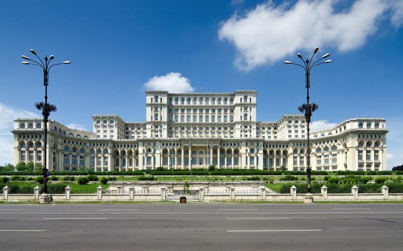 ארמונות בבוקרשט